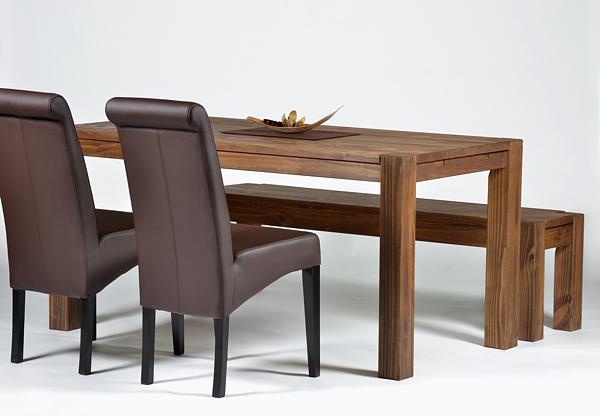 2 st hle braun polsterstuhl esszimmerstuhl massivholz buche kunstleder. Black Bedroom Furniture Sets. Home Design Ideas