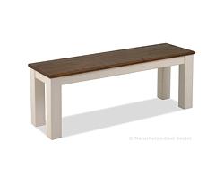 Sitzbank Rio Landhaus Holz Bank 120x38cm Pinie rustikal