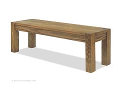 Sitzbank ,,Rio Rustico,, 140x38cm Pinie massiv Kolonial Oregon gebürstet