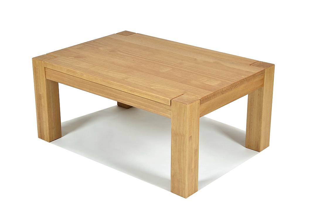Couchtisch Rio Bonito Wohnzimmer Massivholz Tisch 100x70, Honig hell