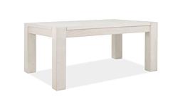Couchtisch Wohnzimmer Massivholz Tisch 100x70cm Pinie massiv White Grain