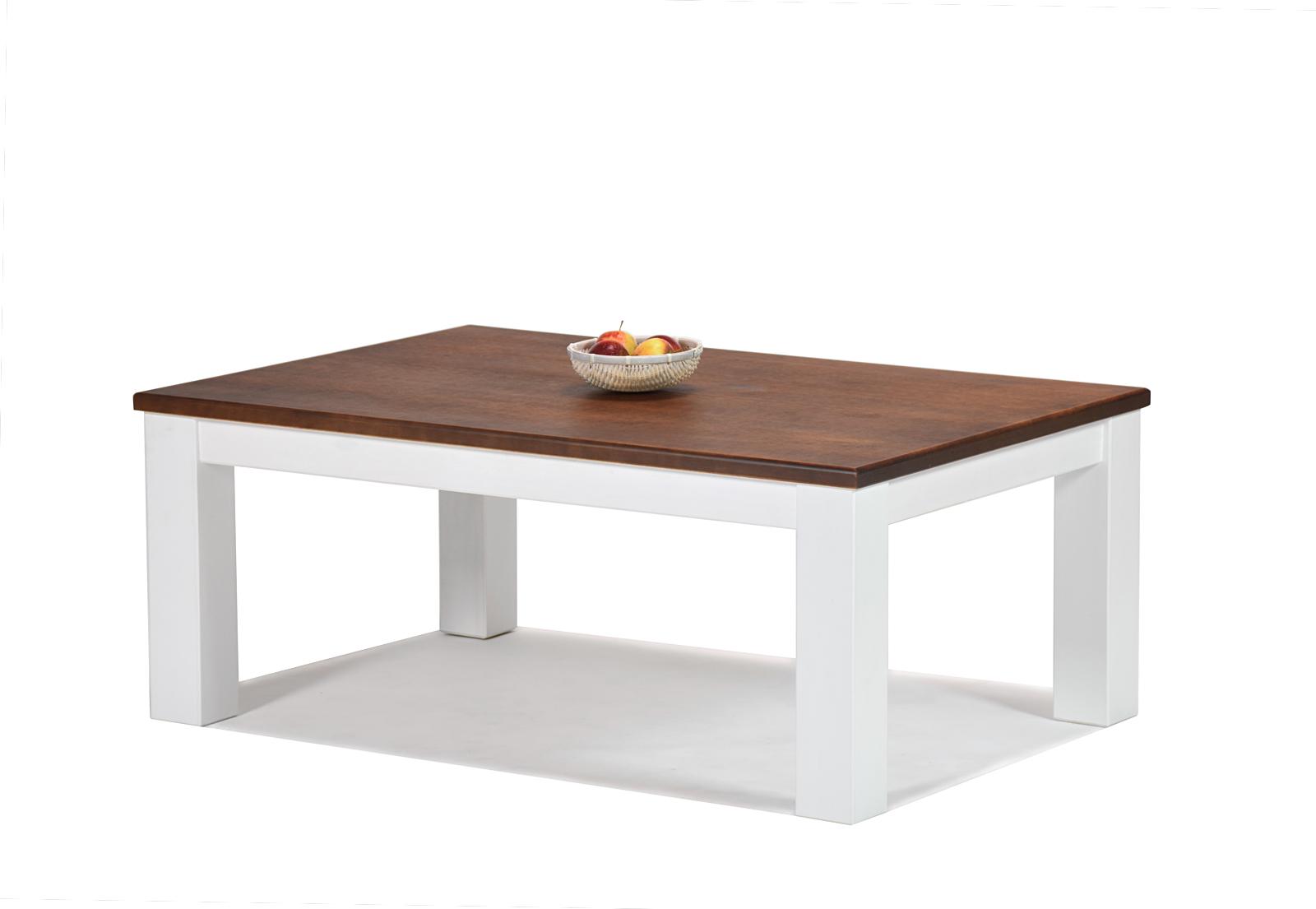 Couchtisch Rio Landhaus Tisch 120x80cm Pinie Massivholz