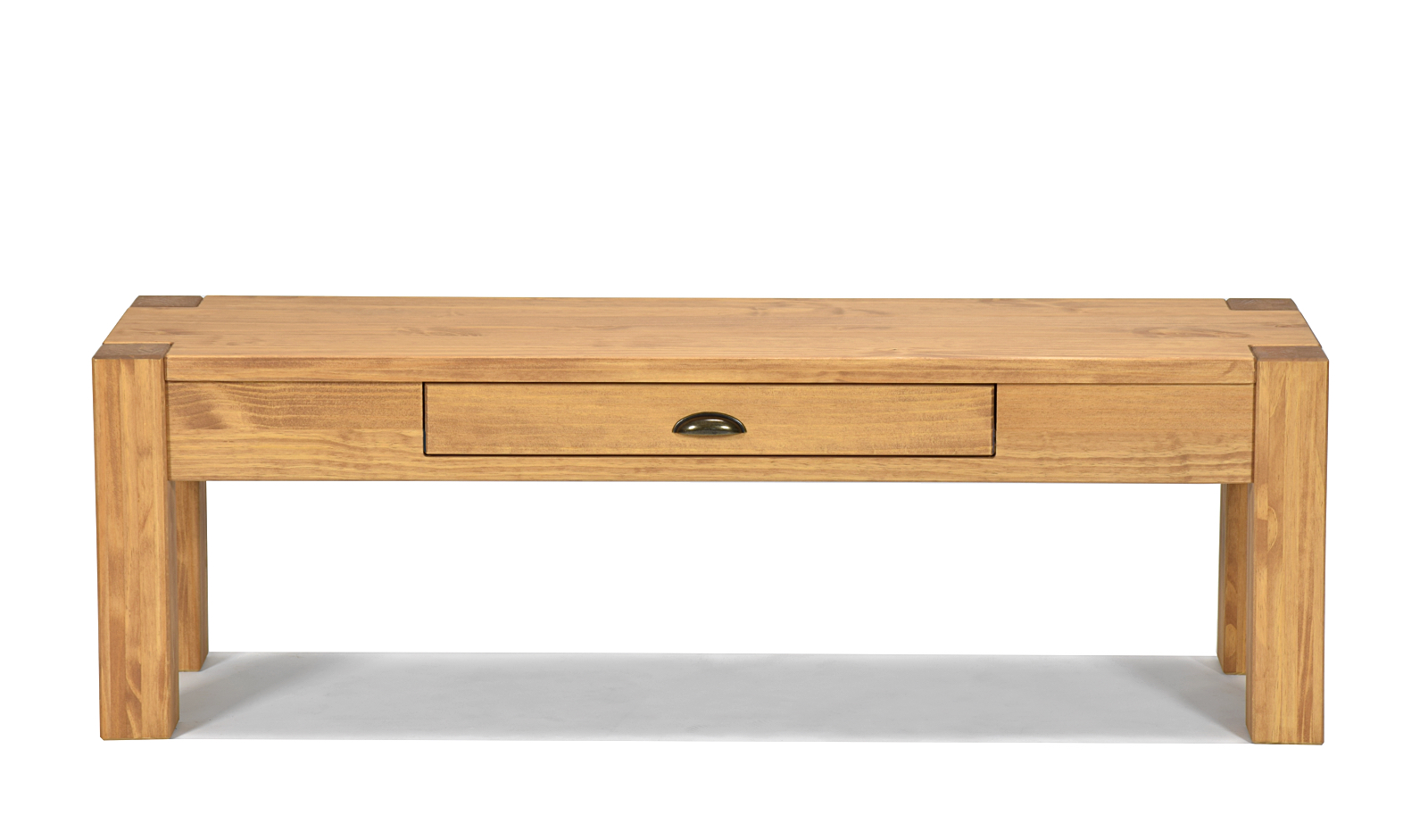 Lowboard Konsole Anrichte Schreibtisch Wandtisch Pinie massiv Honig