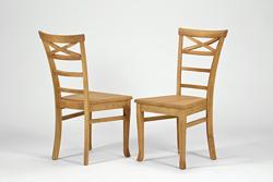 2 Stühle ,,Rio Bonito,, Massivholz Pinie Honig hell