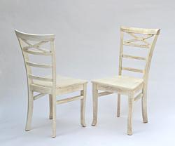2 Stühle ,,Rio Bonito,, Massivholz Pinie Shabby madeira
