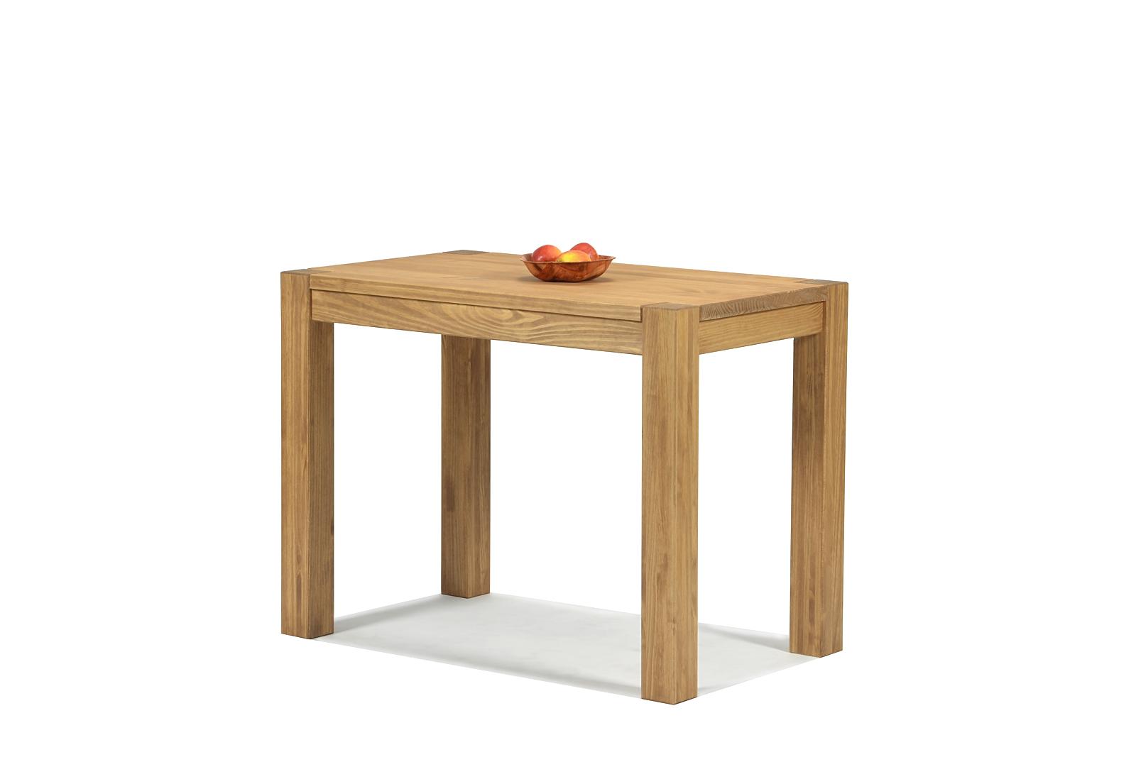 Esstisch Rio Bonito Esszimmer Tisch 100x60cm Massivholz Pinie Honig hell