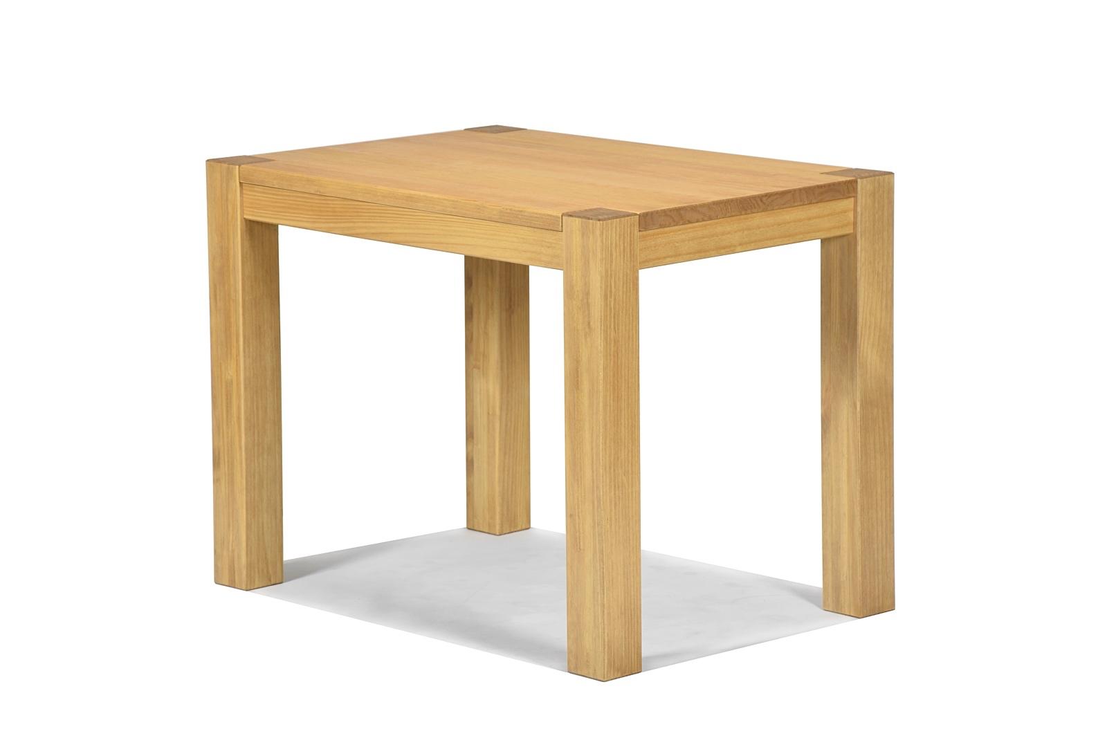 Esstisch Rio Bonito Massivholz Tisch 100x70cm Pinie Honig hell