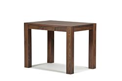 Esstisch ,,Rio Bonito,, Massivholz Tisch 100x70cm Pinie, Cognac braun