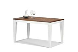 Esstisch Rio Landhaus V Tisch 120x80cm Pinie Massivholz rustikal