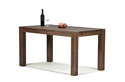 Esstisch Rio Bonito Massivholz Tisch 140x80cm Pinie Cognac braun