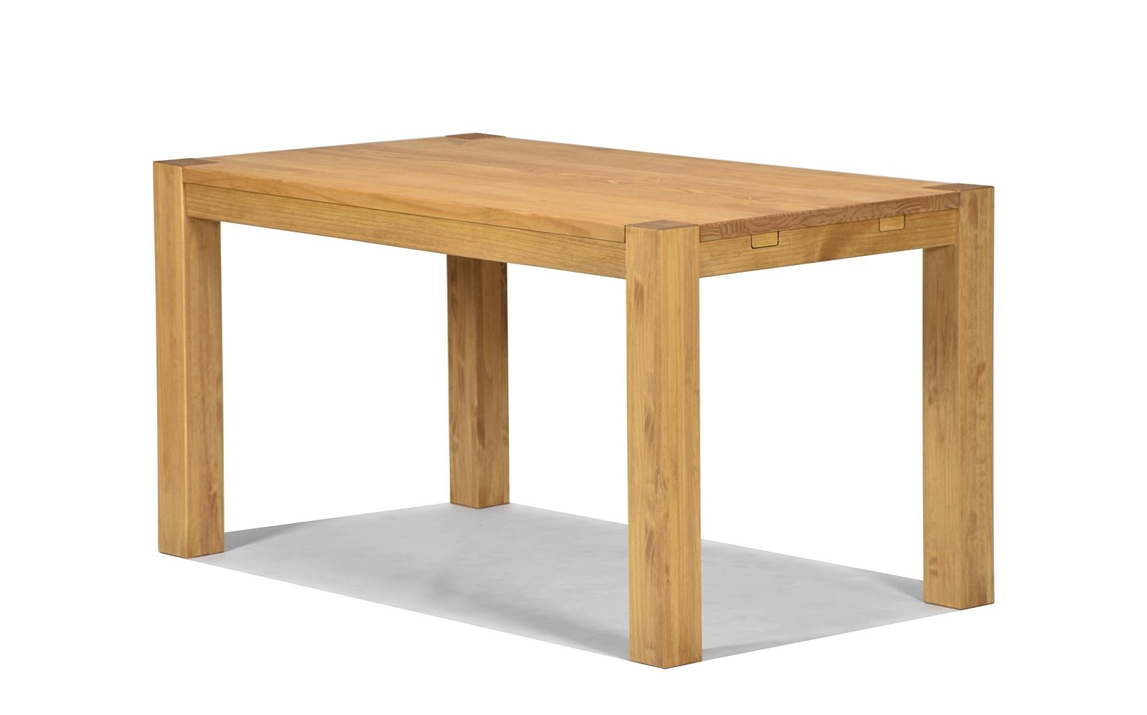 Esstisch Rio Bonito Massivholz Tisch 140x80cm Pinie massiv Honig hell