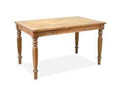 Esstisch Linda Antigo Massivholz Tisch 140x80cm Pinie massiv Honig