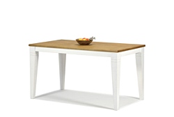 Esstisch ,,Rio Landhaus V,, Tisch 120x80cm Honig Pinie Massivholz