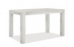 Esstisch Rio Bonito Massivholz Tisch 120x80cm Pinie Shabby White Grey