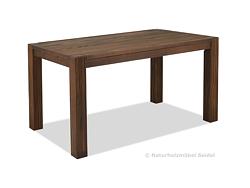 Esstisch ,,Rio Rustico,, Tisch 160x80cm Pinie gebürstet, Kolonial Zimt