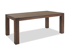 Esstisch Rio Bonito Massivholz Tisch 180x90cm Pinie  Cognac braun