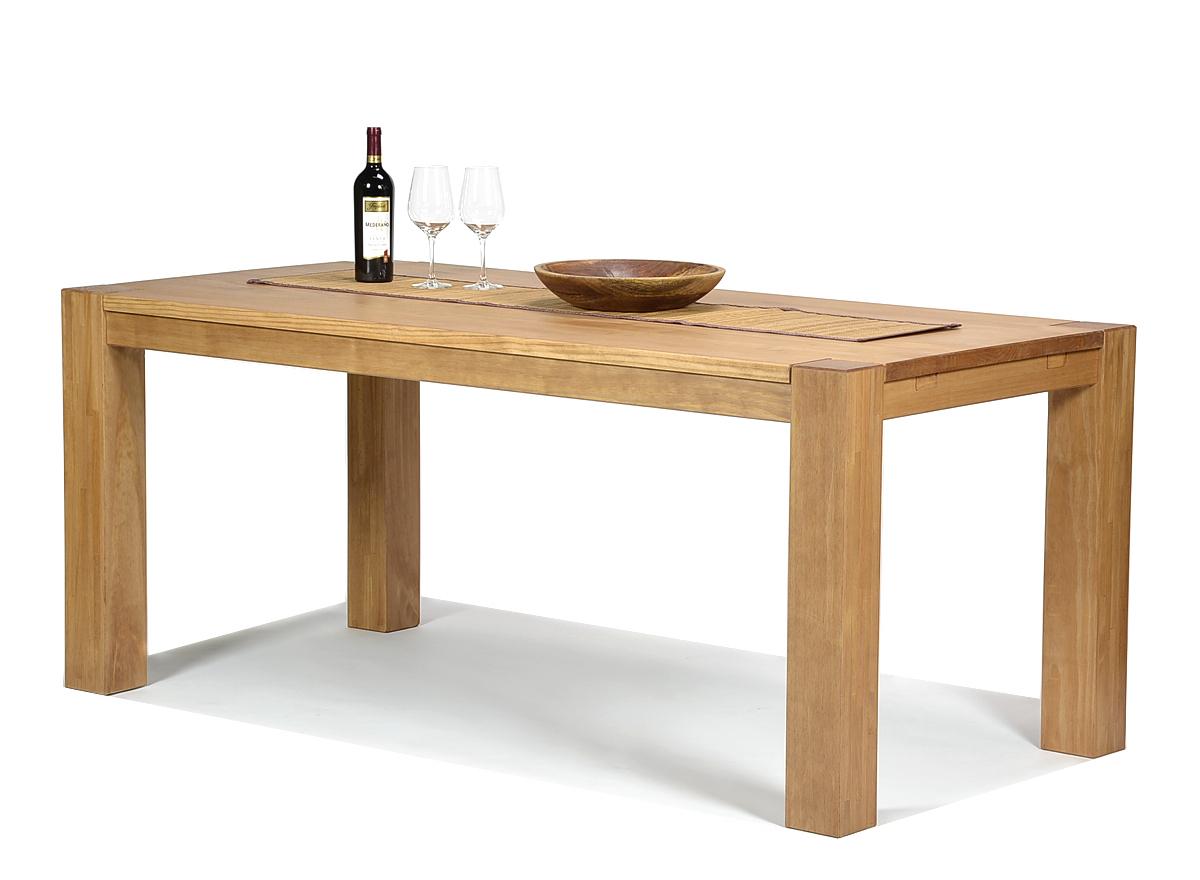 Esstisch Rio Bonito Massivholz Tisch 180x90cm Pinie Honig hell