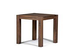 Esstisch Rio Bonito Esszimmer Tisch 70x70cm Massivholz Pinie Cognac braun
