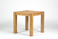 Esstisch Rio Bonito Esszimmer Tisch 70x70cm Massivholz Pinie Honig hell