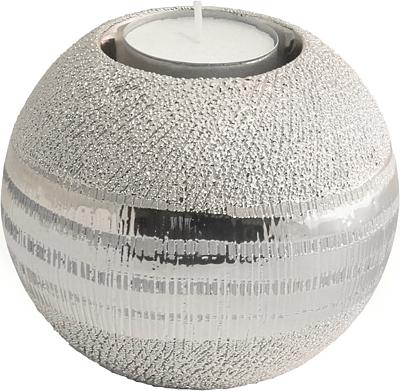 Gilde Teelichthalter ,,Nobilia,, silber 47640