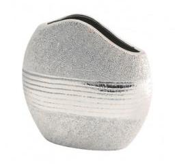 Gilde Vase ,,Nobilia,, silber 47645
